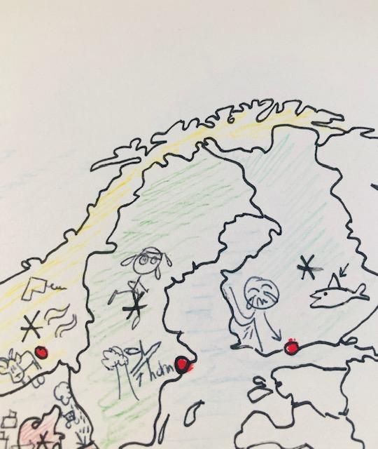 Boorwegen, Zweet en Huilstinky