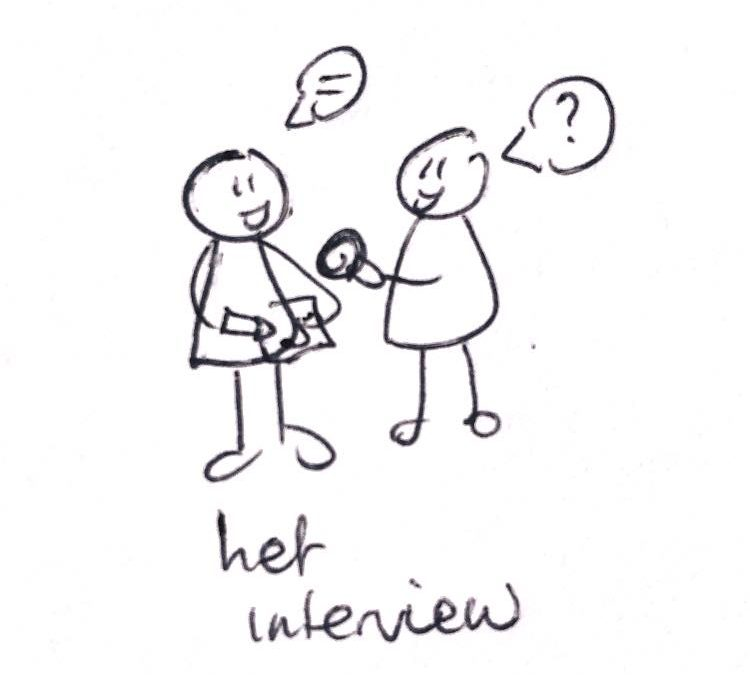 Interview 1e jaars Communicatie en boost your kids komt eraan
